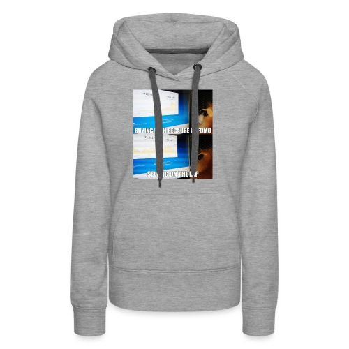 Crypto Lion Buying High and Selling Low - Women's Premium Hoodie