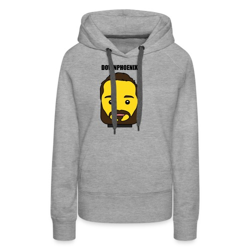 Downphoenix Face Mode - Women's Premium Hoodie