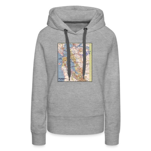 Phillips 66 Zodiac Killer Map June 26 - Women's Premium Hoodie