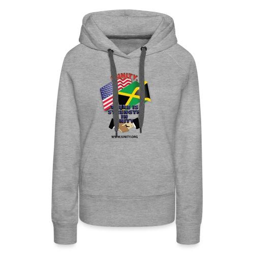 Jamaican flagE01 - Women's Premium Hoodie