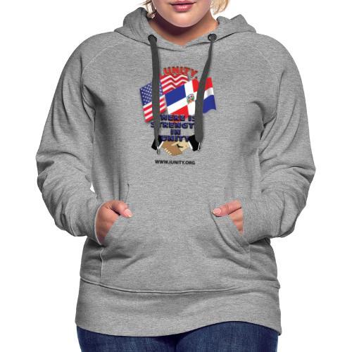 Dominican USA E04 - Women's Premium Hoodie