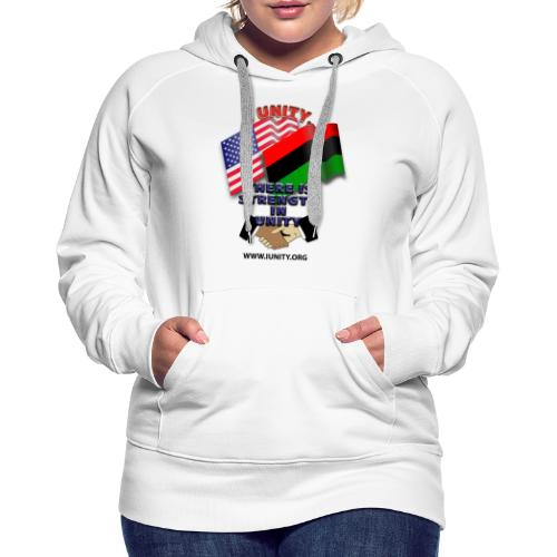 us afro E02 - Women's Premium Hoodie