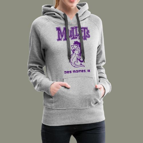 Mullets Color Series - Women's Premium Hoodie