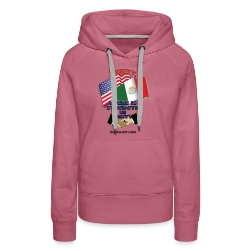 Mexico FlagE01 - Women's Premium Hoodie