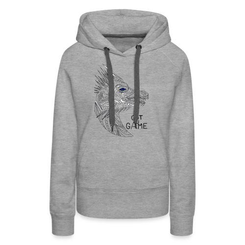 Blue eye dragon - Women's Premium Hoodie