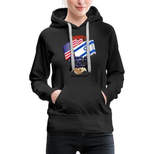 ISRAEL USA E02 - Women's Premium Hoodie