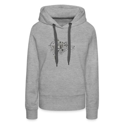 Grit Harbour Logo shirt - Women's Premium Hoodie