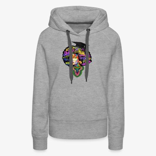Graduation Melanin Queen Shirt Gift - Women's Premium Hoodie