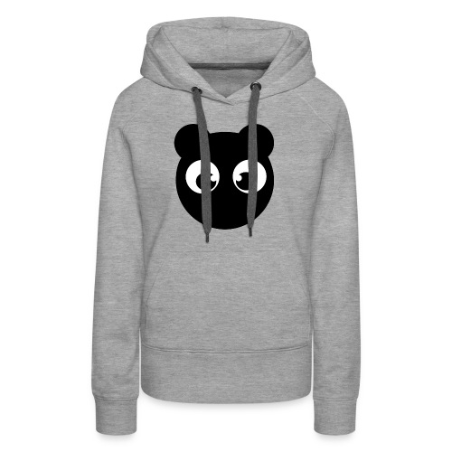 BearBun - Black - Women's Premium Hoodie