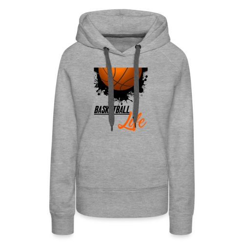Basketball Sports T shirt lover - Women's Premium Hoodie