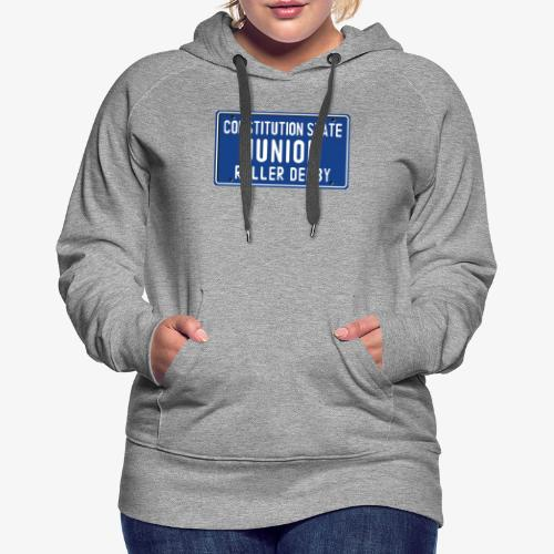 Constitution State Junior Roller Derby - Women's Premium Hoodie