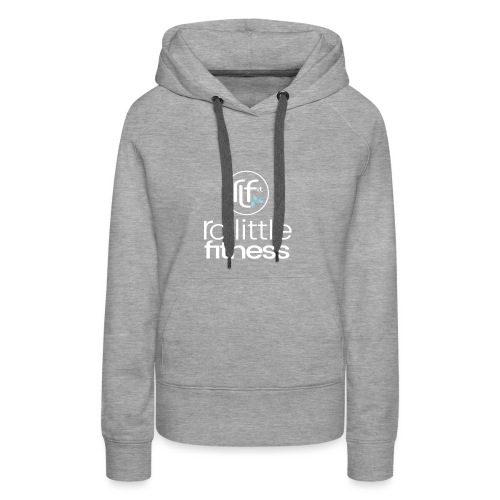 Ro Little Fitness - outline logo - Women's Premium Hoodie
