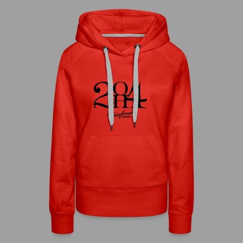 2OH4 - Women's Premium Hoodie