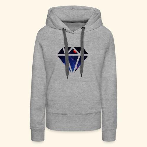 Space Diamond - Women's Premium Hoodie