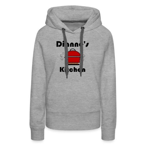 Dianne's Kitchen with Red Pot - Women's Premium Hoodie
