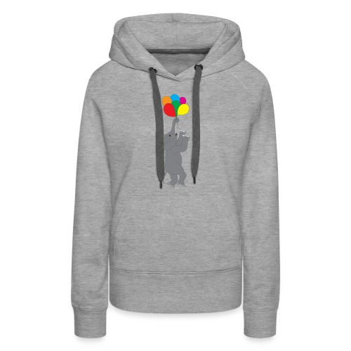 Flying Elephant 01 - Women's Premium Hoodie