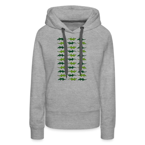 Crocs and gators - Women's Premium Hoodie