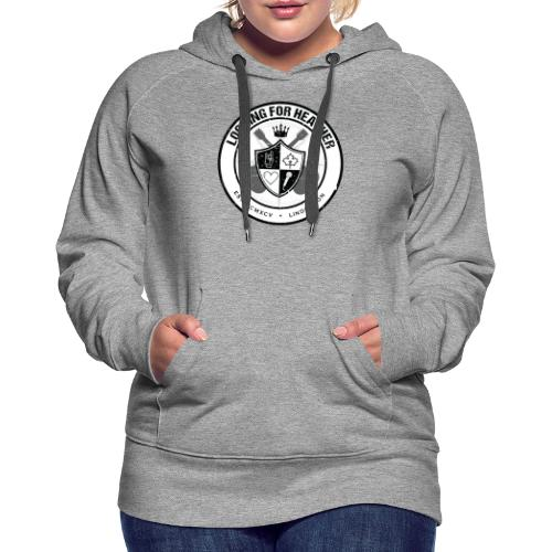 Looking For Heather - Crest Logo - Women's Premium Hoodie