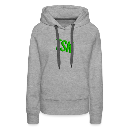 Meget simpel TSK trøje - Women's Premium Hoodie