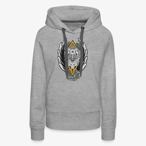 Skull Wings - Women's Premium Hoodie