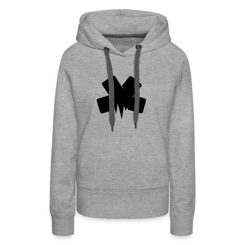 PixelSashay - Black Logo - Women's Premium Hoodie