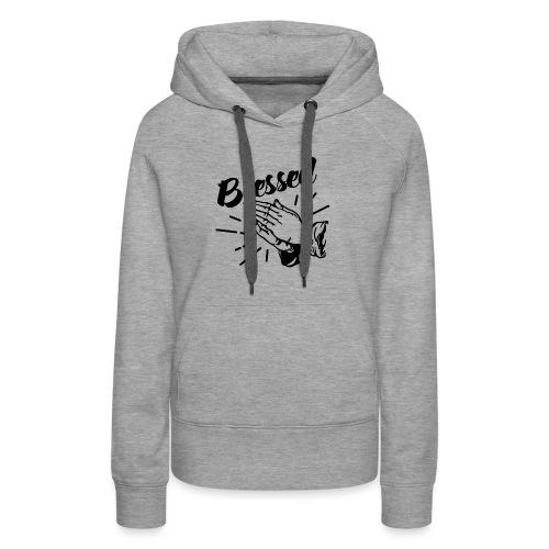 Blessed (Black Letters) - Women's Premium Hoodie