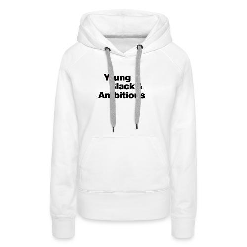 YBA white and gray shirt - Women's Premium Hoodie