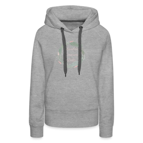 LOD Flower Wreath 1 - Women's Premium Hoodie