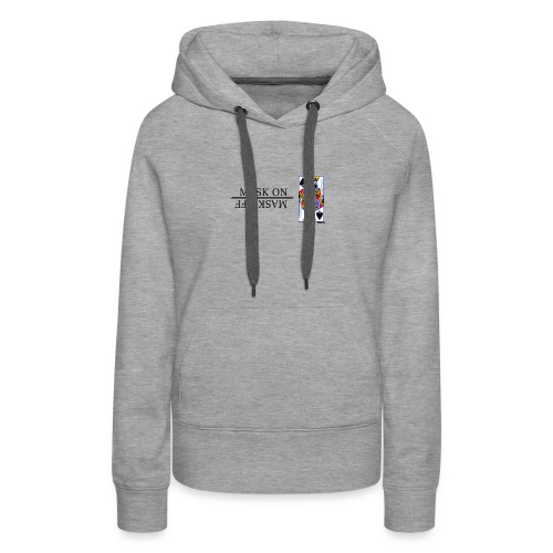 Royals; Mask On - Women's Premium Hoodie