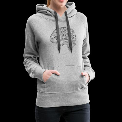 Sound of Mind | Audiophile's Brain - Women's Premium Hoodie