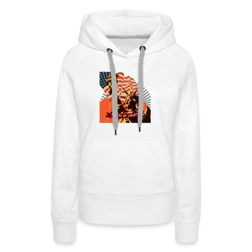 Statue of Liberty - Women's Premium Hoodie
