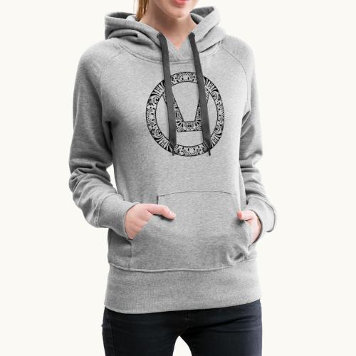 swinger symbol and sign - Women's Premium Hoodie