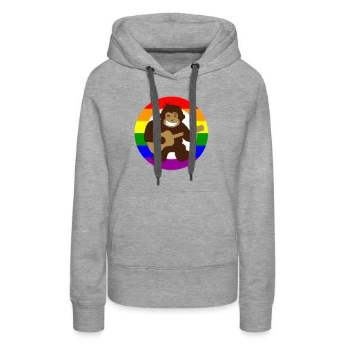 Rainbow Logo - Women's Premium Hoodie