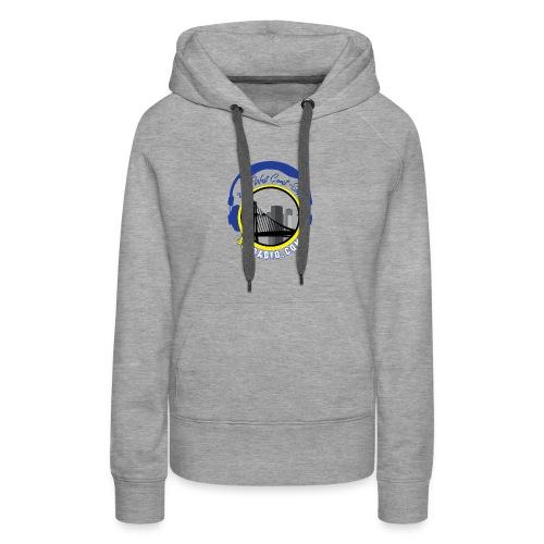 510radio.com Blue & Yellow Logo - Women's Premium Hoodie