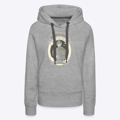 The ultimate soldier - Women's Premium Hoodie