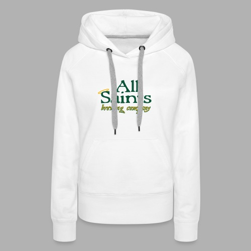 All Saints Logo Full Color - Women's Premium Hoodie