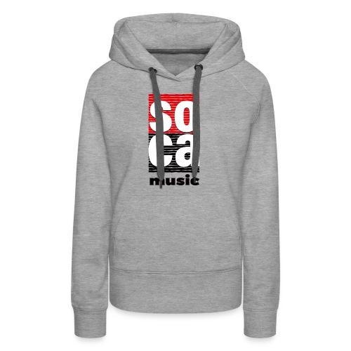 Soca music - Women's Premium Hoodie