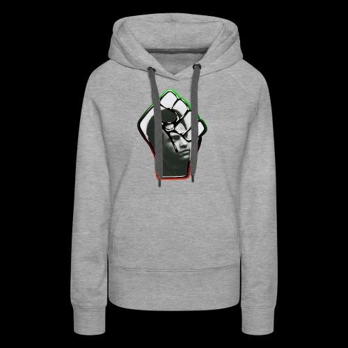 Huey Newton RBG Fist - Women's Premium Hoodie