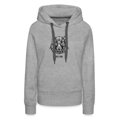 Stay Wild - Women's Premium Hoodie