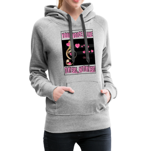 YOUR VOICE - Women's Premium Hoodie