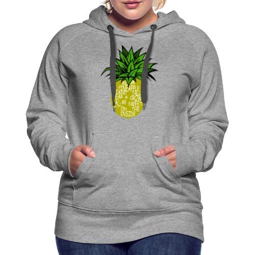 PineappleVer2 - Women's Premium Hoodie