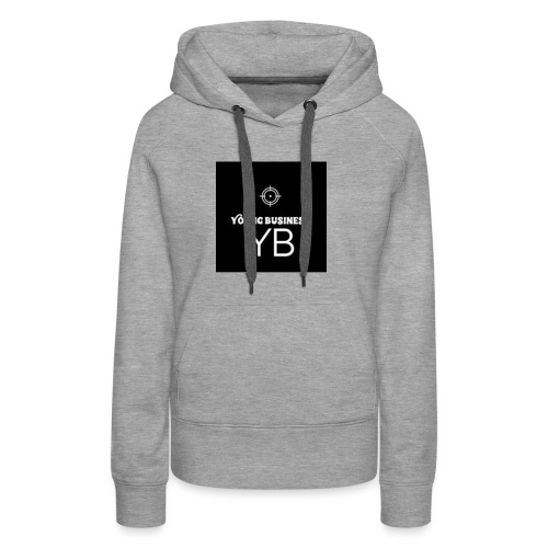 Young Business Hoodie - Women's Premium Hoodie