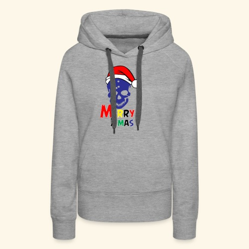 Merry Xmas Skul - Women's Premium Hoodie