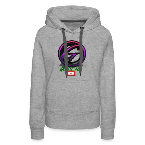 goalie nj logo - Women's Premium Hoodie