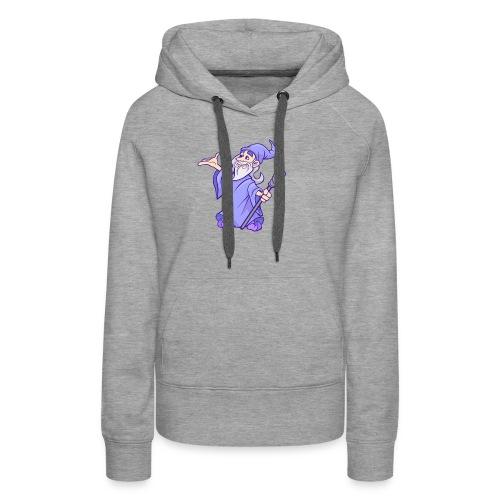 Cartoon wizard - Women's Premium Hoodie