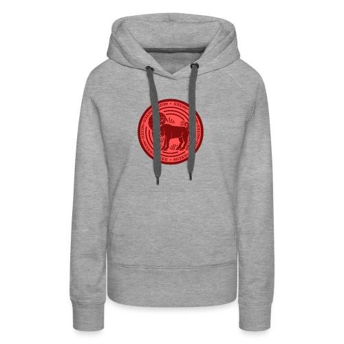 Aries Zodiac Badge 01 - Women's Premium Hoodie