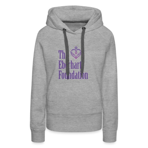 The Eberhart Foundation square logo color - Women's Premium Hoodie