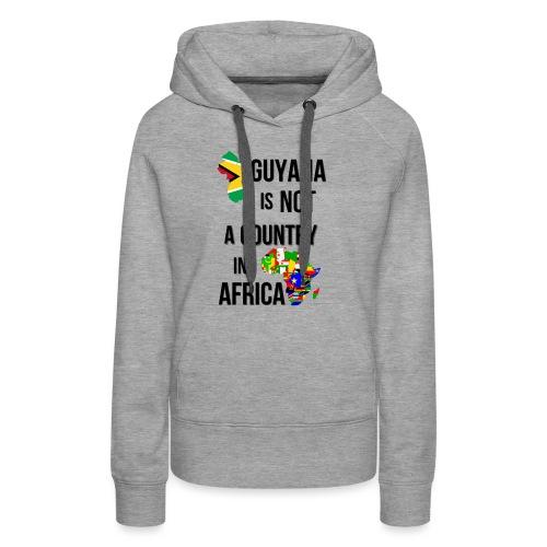 Guyana Africa png - Women's Premium Hoodie