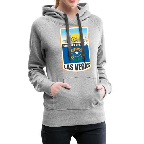 Las Vegas - Nevada - The city of light! - Women's Premium Hoodie