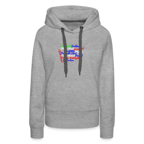 Contortion Art - Women's Premium Hoodie
